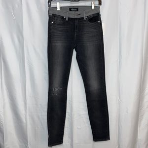 Etica Lily Ripped Ankle Skinny Jeans Size 25